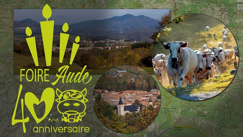 Foire départementale dans l'Aude, Espezel en Occitanie